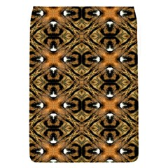 Faux Animal Print Pattern Removable Flap Cover (small)