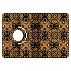 Faux Animal Print Pattern Kindle Fire HDX Flip 360 Case