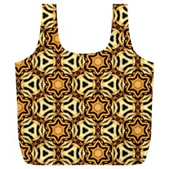 Faux Animal Print Pattern Reusable Bag (XL)