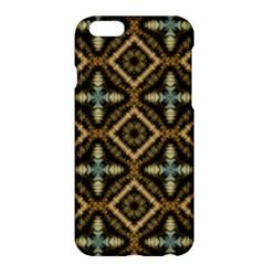 Faux Animal Print Pattern Apple Iphone 6 Plus Hardshell Case