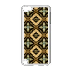 Faux Animal Print Pattern Apple Ipod Touch 5 Case (white)