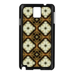 Faux Animal Print Pattern Samsung Galaxy Note 3 N9005 Case (black)