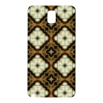 Faux Animal Print Pattern Samsung Galaxy Note 3 N9005 Hardshell Back Case Front