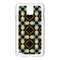 Faux Animal Print Pattern Samsung Galaxy Note 3 N9005 Case (white)