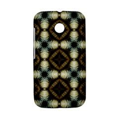 Faux Animal Print Pattern Motorola Moto E Hardshell Case