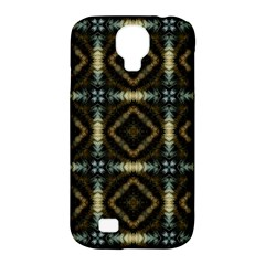 Faux Animal Print Pattern Samsung Galaxy S4 Classic Hardshell Case (pc+silicone)