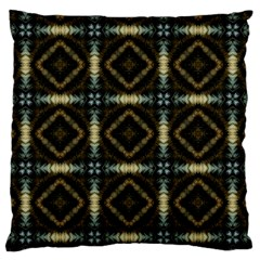 Faux Animal Print Pattern Standard Flano Cushion Case (two Sides)