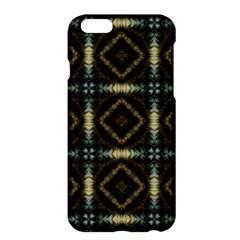 Faux Animal Print Pattern Apple iPhone 6 Plus Hardshell Case