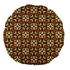 Faux Animal Print Pattern 18  Premium Flano Round Cushion