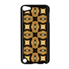 Faux Animal Print Pattern Apple Ipod Touch 5 Case (black)