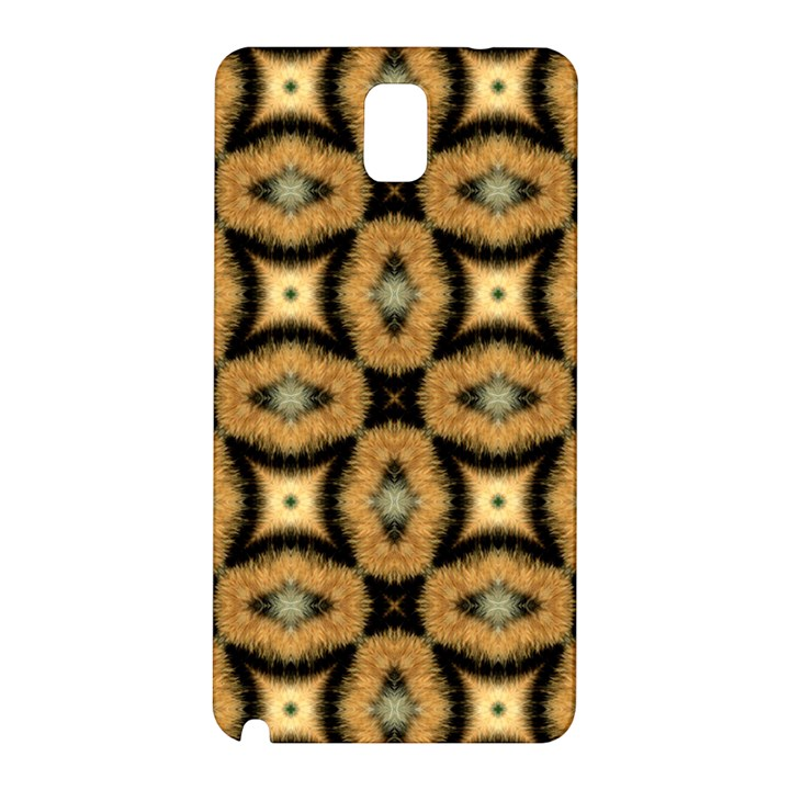 Faux Animal Print Pattern Samsung Galaxy Note 3 N9005 Hardshell Back Case