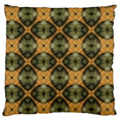 Faux Animal Print Pattern Large Flano Cushion Case (Two Sides)