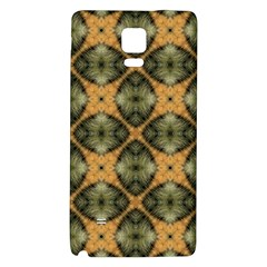 Faux Animal Print Pattern Samsung Note 4 Hardshell Back Case