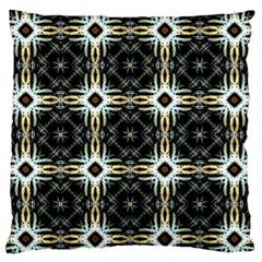 Faux Animal Print Pattern Large Flano Cushion Case (One Side)