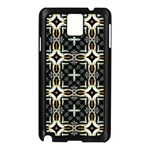 Faux Animal Print Pattern Samsung Galaxy Note 3 N9005 Case (Black) Front