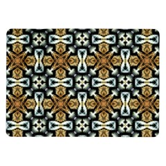 Faux Animal Print Pattern Samsung Galaxy Tab 10 1  P7500 Flip Case