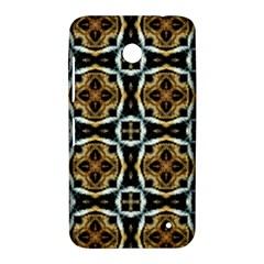 Faux Animal Print Pattern Nokia Lumia 630 Hardshell Case