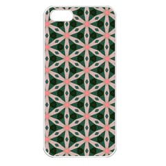 Cute Pretty Elegant Pattern Apple Iphone 5 Seamless Case (white)