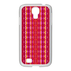 Cute Pretty Elegant Pattern Samsung GALAXY S4 I9500/ I9505 Case (White)