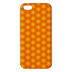 Cute Pretty Elegant Pattern Apple Iphone 5 Premium Hardshell Case