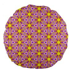 Cute Pretty Elegant Pattern 18  Premium Flano Round Cushion