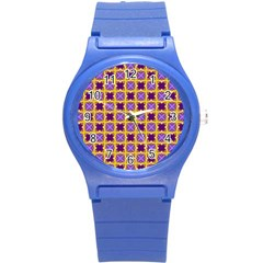 Cute Pretty Elegant Pattern Plastic Sport Watch (small)