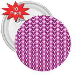 Cute Pretty Elegant Pattern 3  Button (10 Pack)
