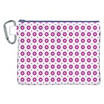 Cute Pretty Elegant Pattern Canvas Cosmetic Bag (XXL) Front