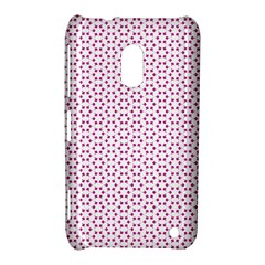 Cute Pretty Elegant Pattern Nokia Lumia 620 Hardshell Case