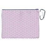 Cute Pretty Elegant Pattern Canvas Cosmetic Bag (XXL) Back