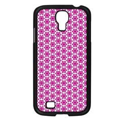 Cute Pretty Elegant Pattern Samsung Galaxy S4 I9500/ I9505 Case (black)