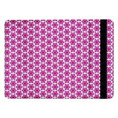 Cute Pretty Elegant Pattern Samsung Galaxy Tab Pro 12 2  Flip Case