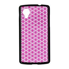Cute Pretty Elegant Pattern Google Nexus 5 Case (Black)