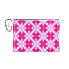 Cute Pretty Elegant Pattern Canvas Cosmetic Bag (Medium)