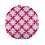 Cute Pretty Elegant Pattern 15  Premium Round Cushion  Back