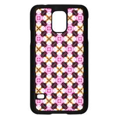 Cute Pretty Elegant Pattern Samsung Galaxy S5 Case (Black)