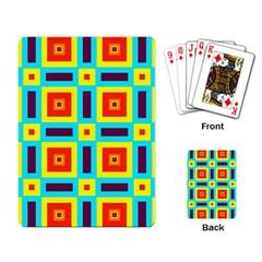 Cute Pretty Elegant Pattern Playing Cards Single Design