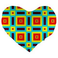 Cute Pretty Elegant Pattern 19  Premium Flano Heart Shape Cushion