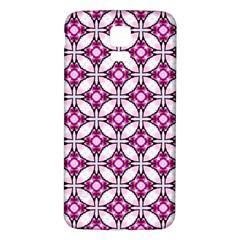 Cute Pretty Elegant Pattern Samsung Galaxy S5 Back Case (White)