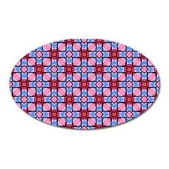 Cute Pretty Elegant Pattern Magnet (oval)