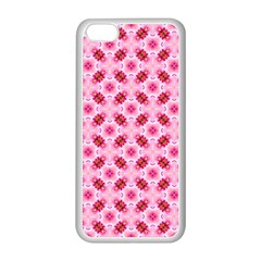 Cute Pretty Elegant Pattern Apple iPhone 5C Seamless Case (White)