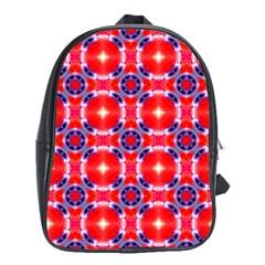 Cute Pretty Elegant Pattern School Bag (xl)