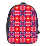 Cute Pretty Elegant Pattern School Bag (XL) Front