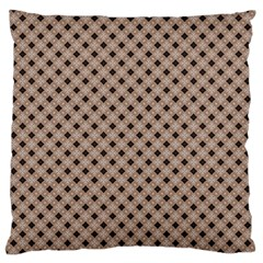 Cute Pretty Elegant Pattern Large Flano Cushion Case (Two Sides)