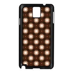 Cute Pretty Elegant Pattern Samsung Galaxy Note 3 N9005 Case (Black)