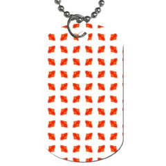 Cute Pretty Elegant Pattern Dog Tag (two Sided)