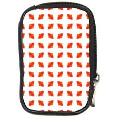 Cute Pretty Elegant Pattern Compact Camera Leather Case