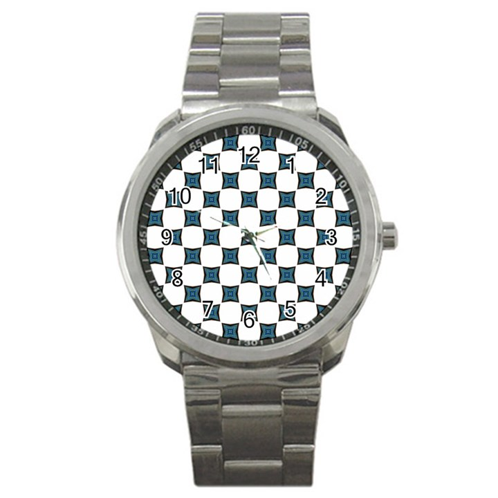 Cute Pretty Elegant Pattern Sport Metal Watch