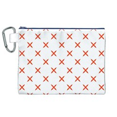 Cute Pretty Elegant Pattern Canvas Cosmetic Bag (XL)