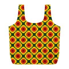 Cute Pretty Elegant Pattern Reusable Bag (l)